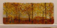 <h2>Autumn - field</h2><p>Half C shaped curve 16cm x 37cm</p>