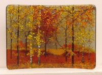 <h2>Autumn - field</h2><p>Small C shaped curve 20cm x 29cm</p>